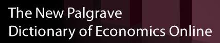 DICTIONARY OF ECONOMICS ONLINE - PALGRAVE