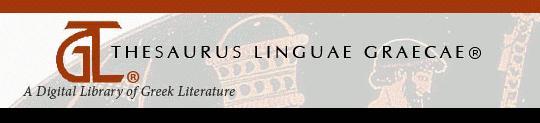 THESAURUS LINGUAE GRAECAE.