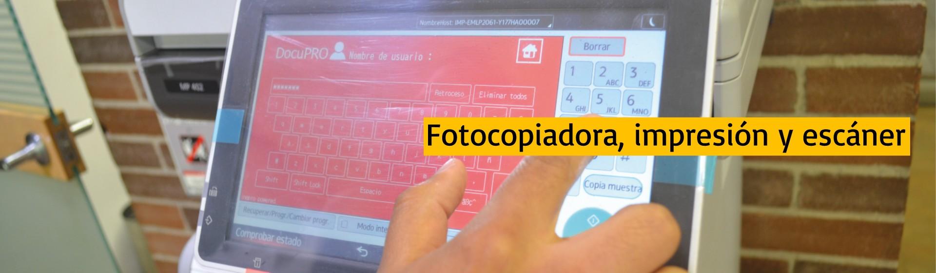 Fotocopias e impresión | Uniandes