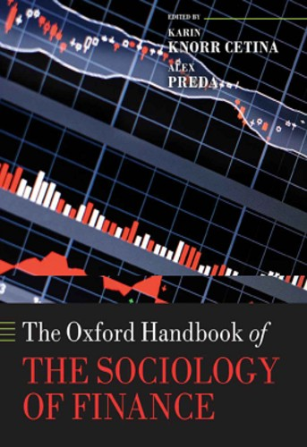 The Oxford Handbook of the Sociology of Finance   Uniandes