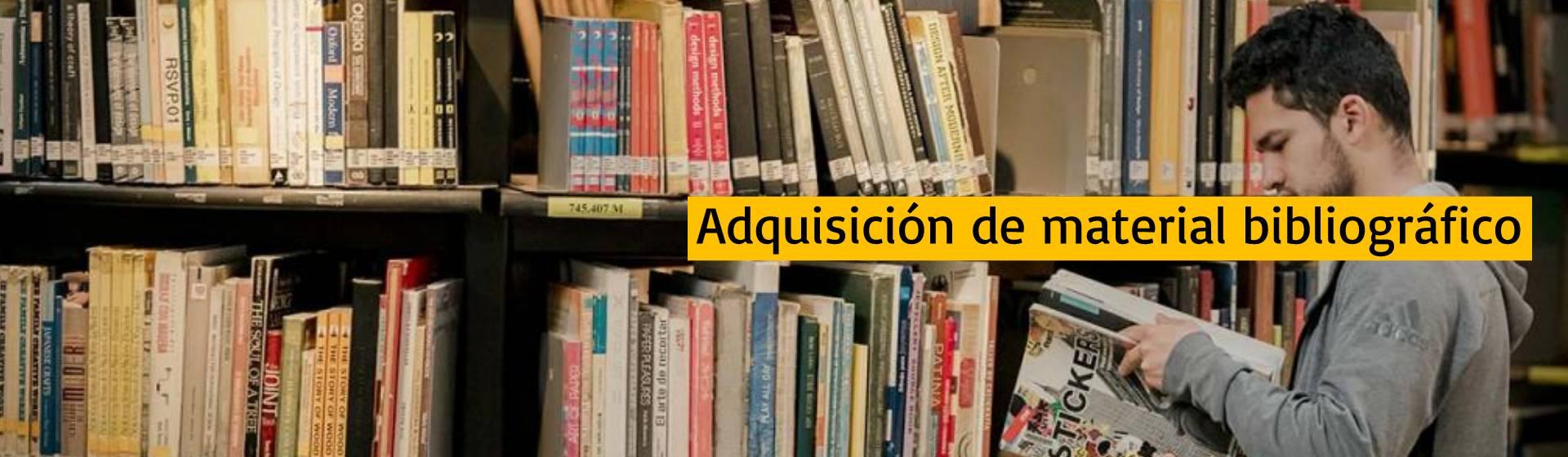 Adquisición de material bibliográfico | Uniandes
