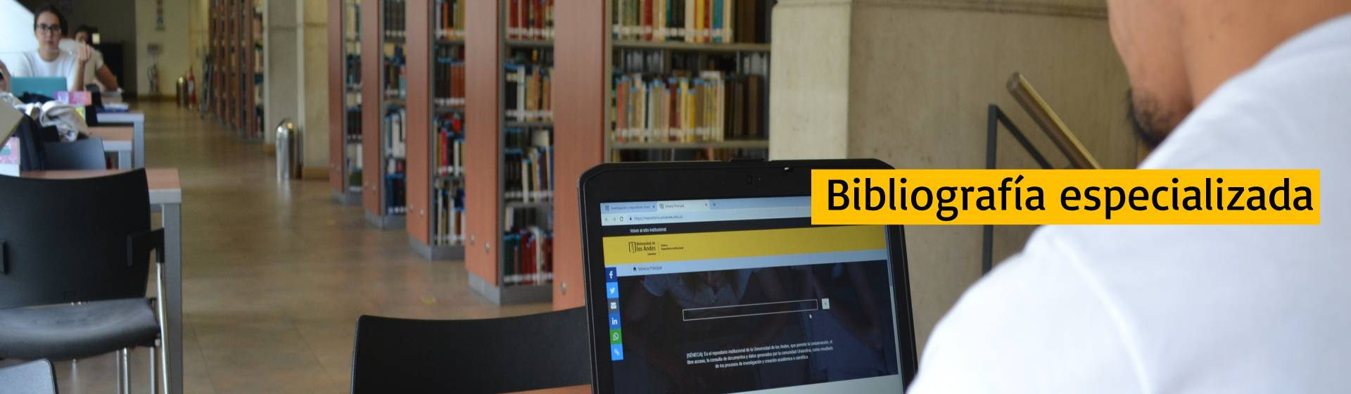 Bibliografía especializada | Uniandes