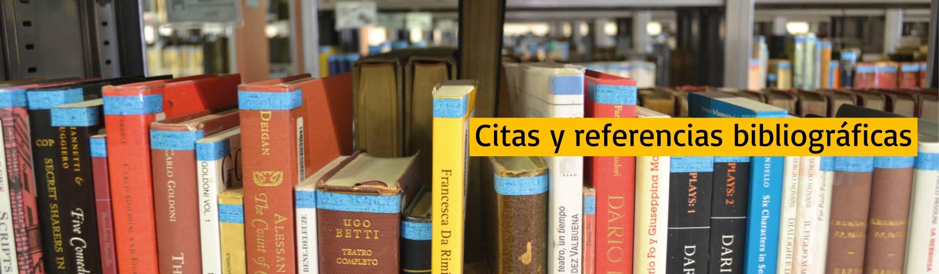 Citas y referencias bibliográficas | Uniandes