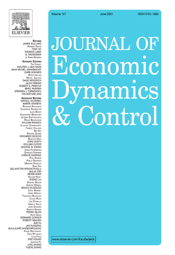 Journal of economic dynamics and control   Uniandes