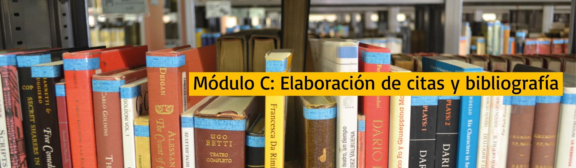 Módulo C: Elaboración de citas y bibliografía | Uniandes