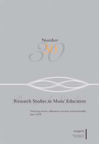 Research studies in music education   Uniandes